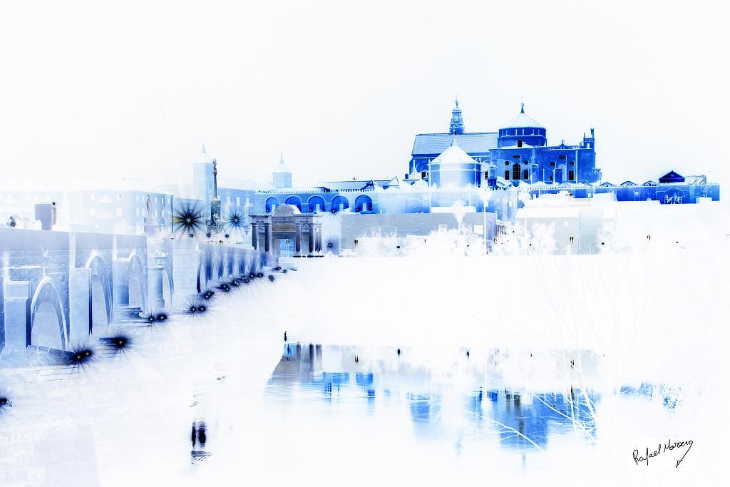 Mezquita y estrellas