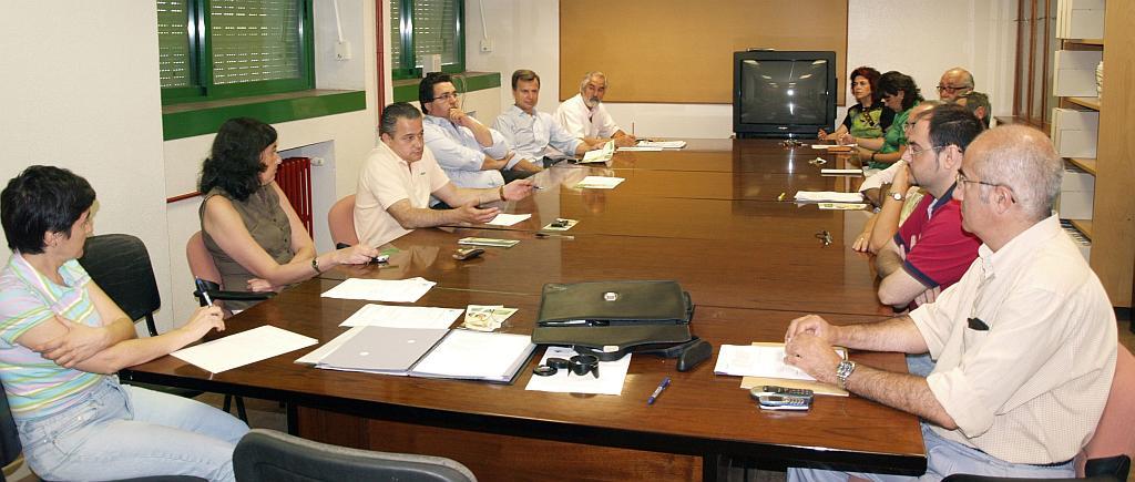 Consejo de Departamento en 2007