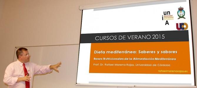 Curso de Verano: Dieta Mediterránea. Saberes y Sabores