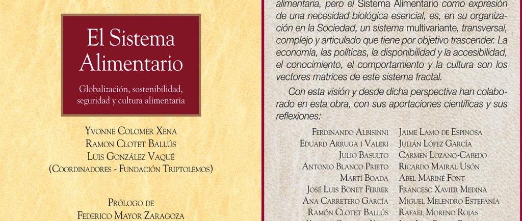Participación en el último libro de la Cátedra UNESCO