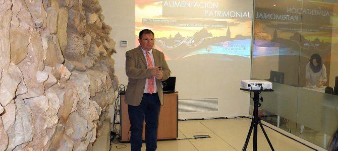 Conferencia sobre Alimentación y Patrimonio en la Bienal Internacional de Patrimonio