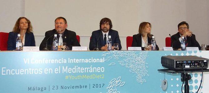 Ejercicio físico y Dieta Mediterránea para los jóvenes en los VI Encuentros en el Mediterráneo