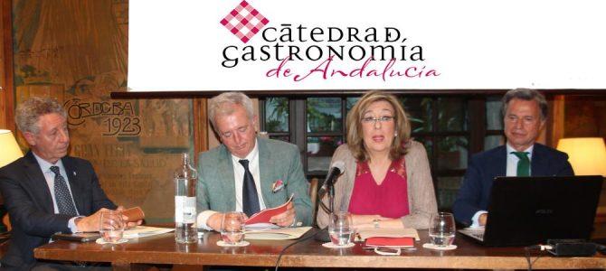 Clausura del curso 17-18 de la Cátedra de Gastronomía de Andalucía
