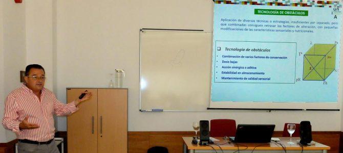 Tecnologías de conservación y transformación para la calidad alimentaria. Rafael Gómez Díaz