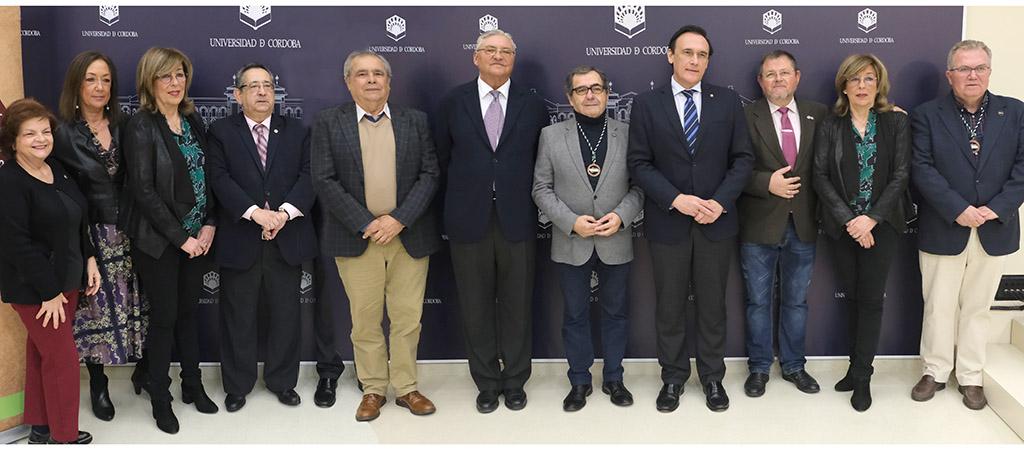 Firma de convenios de la Cátedra de Gastronomía de Andalucía con FECOAN y Cofradías