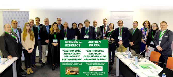 Reunión de Expertos «Gastronomía, Alimentación Saludable y Sostenible»
